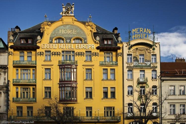 restaurace kluby i hotely hotel evropa praha 1 v clavsk n m st praha 1. Black Bedroom Furniture Sets. Home Design Ideas